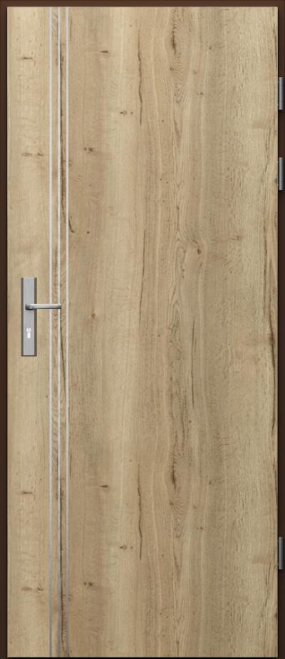Podobne produkty                                  Drzwi techniczne                                  Akustyczne 27dB ukł. pionowy + intarsje 3