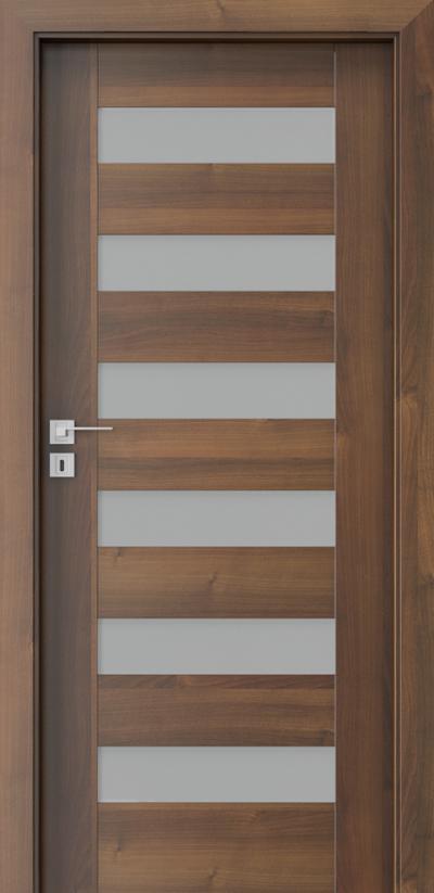 Innenraumtüren Porta CONCEPT C.6 Furnier Portadecor *** Nußbaum