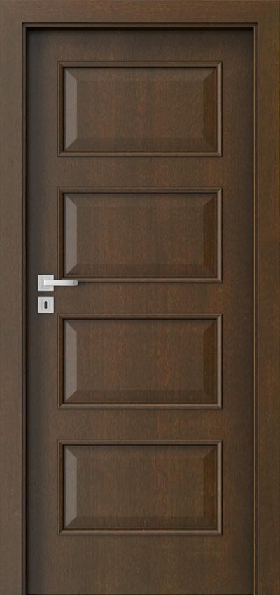 Interior doors  5.1 Natural satin veneer **** Mocca
