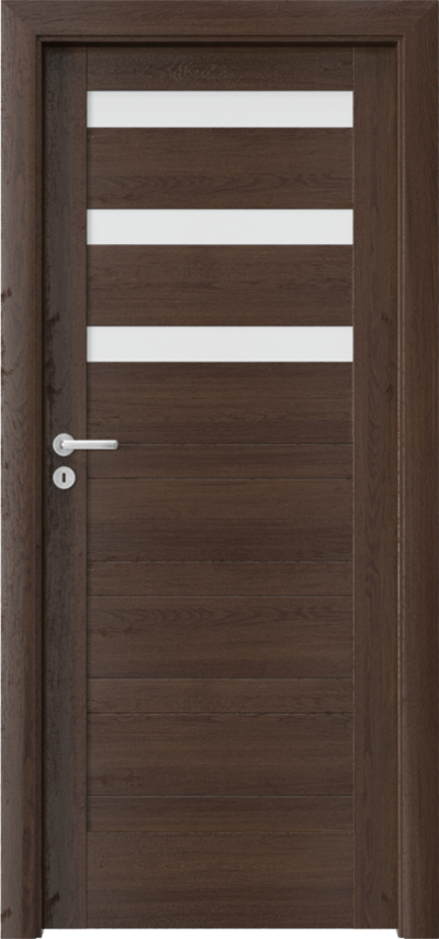 Drzwi wewnętrzne Porta VERTE HOME, D D.3 Okleina Portaperfect 3D **** Dąb Hawana