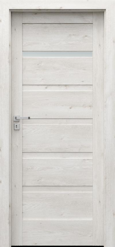 Drzwi wewnętrzne Porta VERTE HOME, H H.1 Okleina Portaperfect 3D **** Dąb Skandynawski