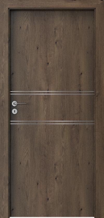 Drzwi wewnętrzne Porta LINE C.1 Okleina Portaperfect 3D **** Dąb Południowy