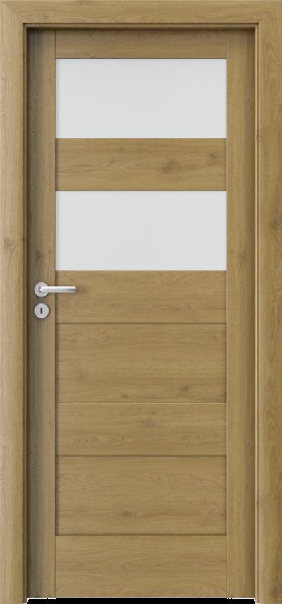Drzwi wewnętrzne Porta VERTE HOME, L L.2 Okleina Portaperfect 3D **** Dąb Naturalny