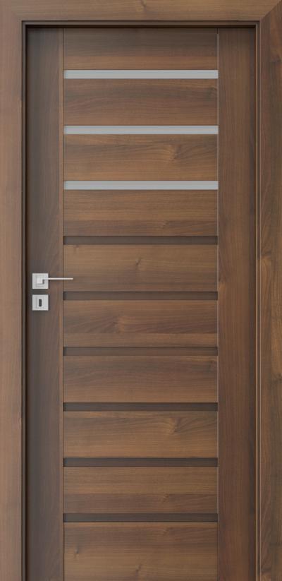 Drzwi wewnętrzne Porta KONCEPT A.3 Okleina Portadecor *** Orzech