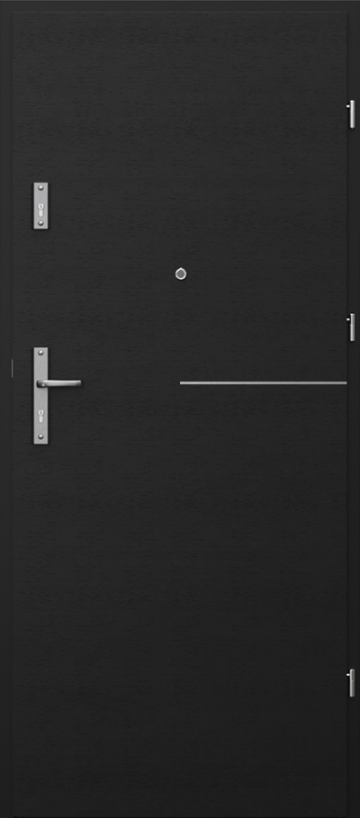 Drzwi wejściowe do mieszkania OPAL RC2 intarsje 8