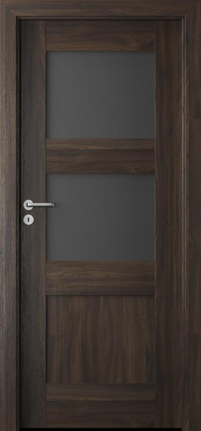 Drzwi wewnętrzne Porta VERTE PREMIUM, B B.2 Okleina Portasynchro 3D *** Dąb Ciemny