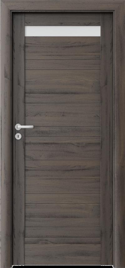 Drzwi wewnętrzne Porta VERTE HOME, D D.1 Okleina Portasynchro 3D *** Dąb Ciemny