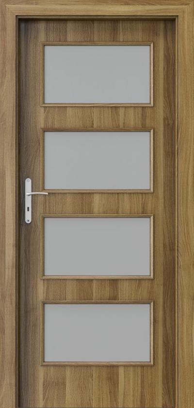 Drzwi wewnętrzne Porta NOVA 5.5 Okleina Portasynchro 3D *** Akacja Miodowa