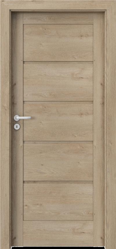 Drzwi wewnętrzne Porta VERTE HOME, G G.0 Okleina Portaperfect 3D **** Dąb Klasyczny