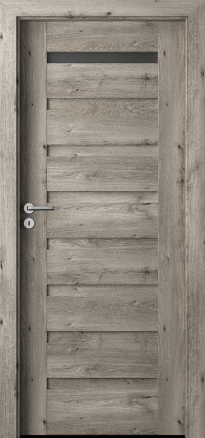 Drzwi wewnętrzne Porta VERTE PREMIUM, D D.1 Okleina Portaperfect 3D **** Dąb Syberyjski