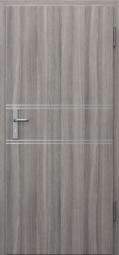Drzwi techniczne INNOVO 42 dB Intarsje 4 Okleina CPL HQ 0,2 ***** Dąb Milano 4