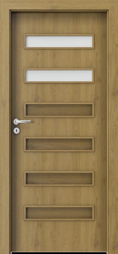 Drzwi wewnętrzne Porta FIT F.2 Okleina CPL HQ 0,2 ***** Dąb Naturalny