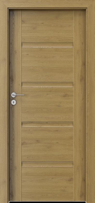 Drzwi wewnętrzne Porta INSPIRE C.0 Okleina Portaperfect 3D **** Dąb Naturalny