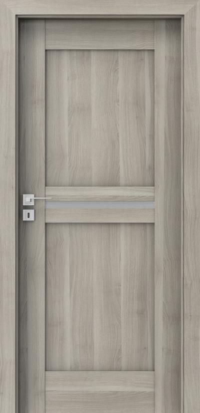 Drzwi wewnętrzne Porta KONCEPT B.1 Okleina Portasynchro 3D *** Akacja Srebrna