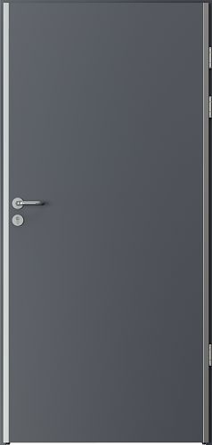 Technical doors ENDURO Solid HPL laminate ****** Anthracite HPL CPL