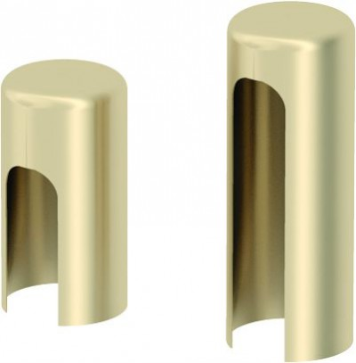 Accessories Hinges and hinge covers Covers for hinges standard for interior doors (set per one hinge) golden matt METAL Golden matt