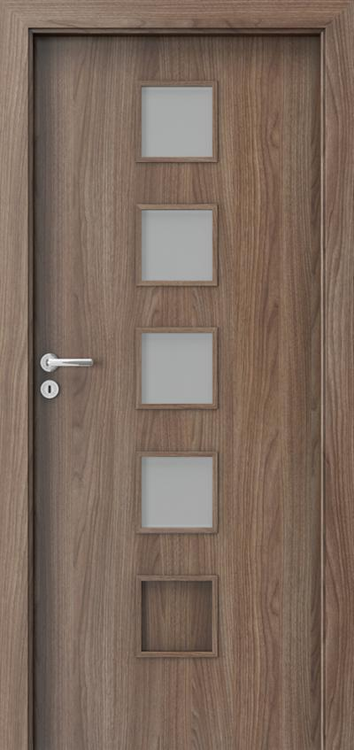 Interior doors Porta FIT B.4 Portadecor veneer *** Walnut Verona 2