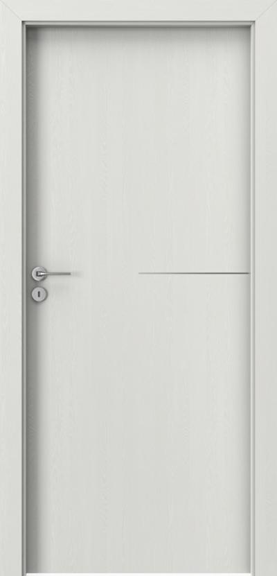 Drzwi wewnętrzne Porta LINE G.1 Okleina Portasynchro 3D *** Wenge White