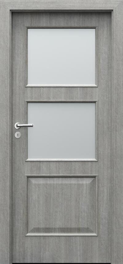 Drzwi wewnętrzne Porta NOVA 4.3 Portalamino**** Dąb Srebrzysty