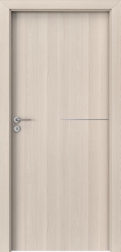 Drzwi wewnętrzne Porta LINE G.1 Okleina CPL HQ 0,2 ***** Orzech Bielony