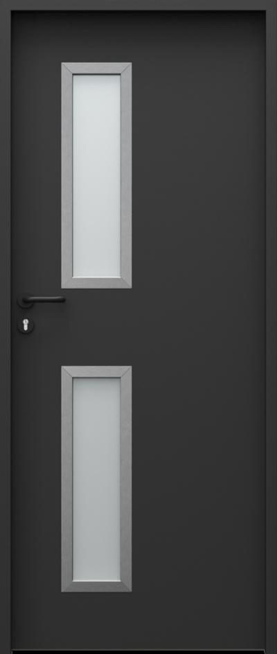 Drzwi techniczne Steel SOLID 5