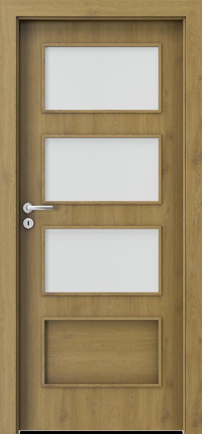 Drzwi wewnętrzne Porta FIT H.3 Okleina CPL HQ 0,2 ***** Dąb Naturalny