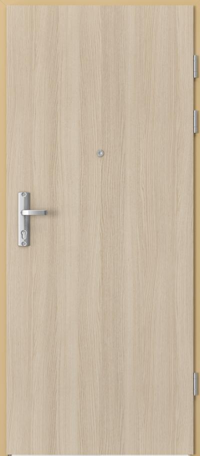 Drzwi wejściowe do mieszkania EXTREME RC3 płaskie