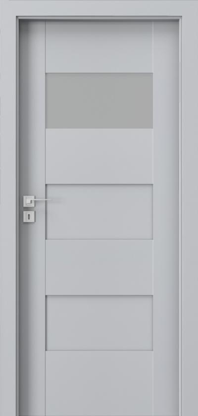 Drzwi wewnętrzne Porta KONCEPT K.1 Okleina Portadecor *** Popielaty Euroinvest