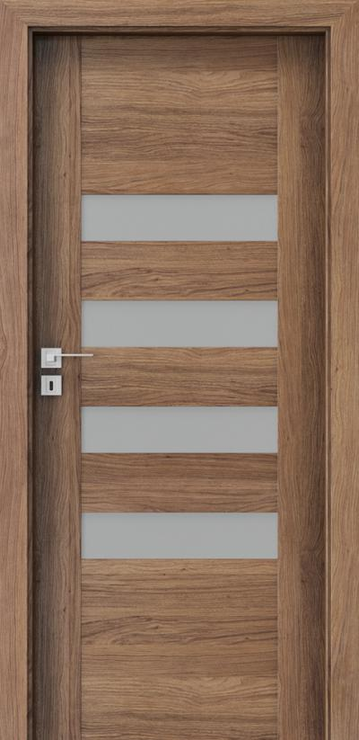 Drzwi wewnętrzne Porta KONCEPT H.4 Okleina Portaperfect 3D **** Dąb Kalifornia