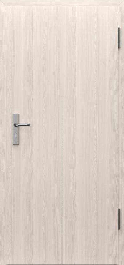 Drzwi techniczne INNOVO 37 dB Intarsje 9 Okleina CPL HQ 0,2 ***** Orzech Bielony