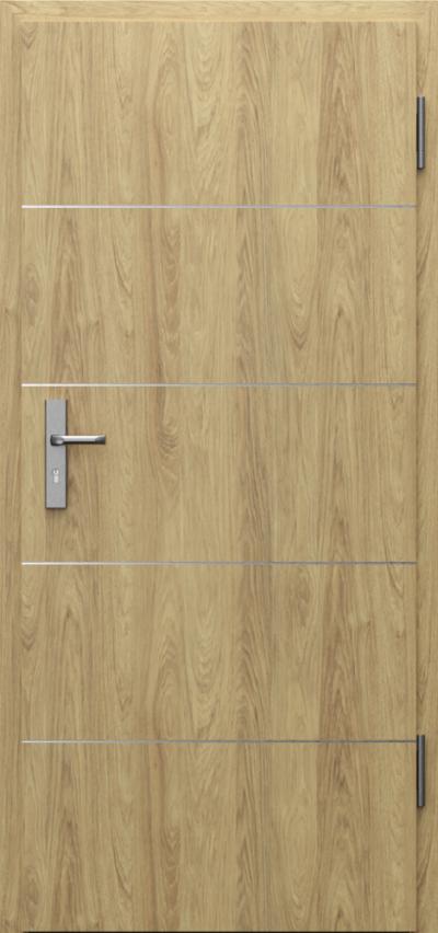Drzwi techniczne INNOVO 42dB Intarsje 6