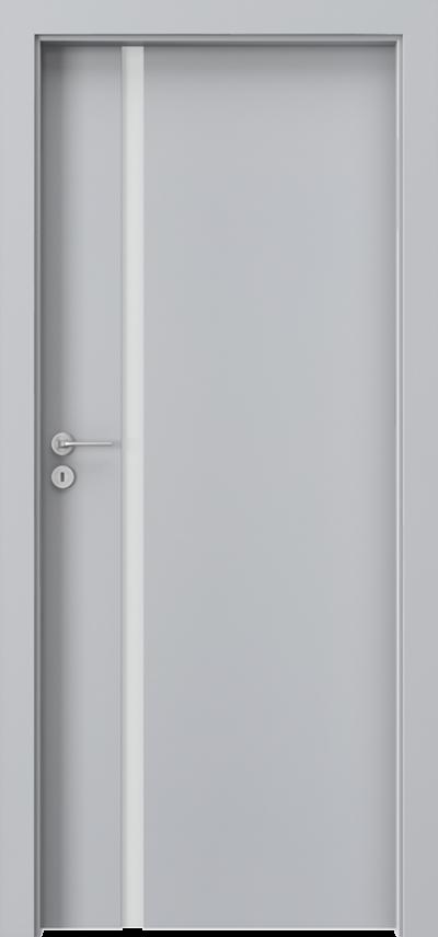 Drzwi wewnętrzne Porta FOCUS 4.A Okleina CPL HQ 0,2 ***** Popielaty Euroinvest
