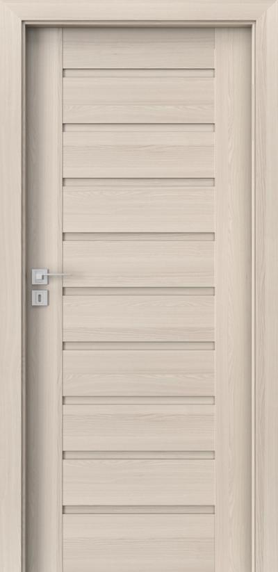 Drzwi wewnętrzne Porta KONCEPT A.0 Okleina Portadecor *** Orzech Bielony