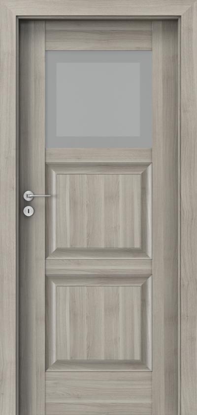 Drzwi wewnętrzne Porta INSPIRE B.1 Okleina Portasynchro 3D *** Akacja Srebrna