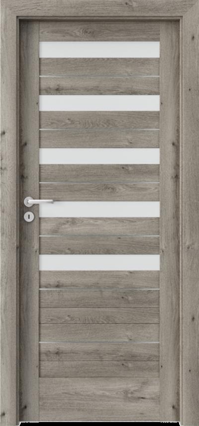 Drzwi wewnętrzne Porta VERTE HOME D.5 intarsje