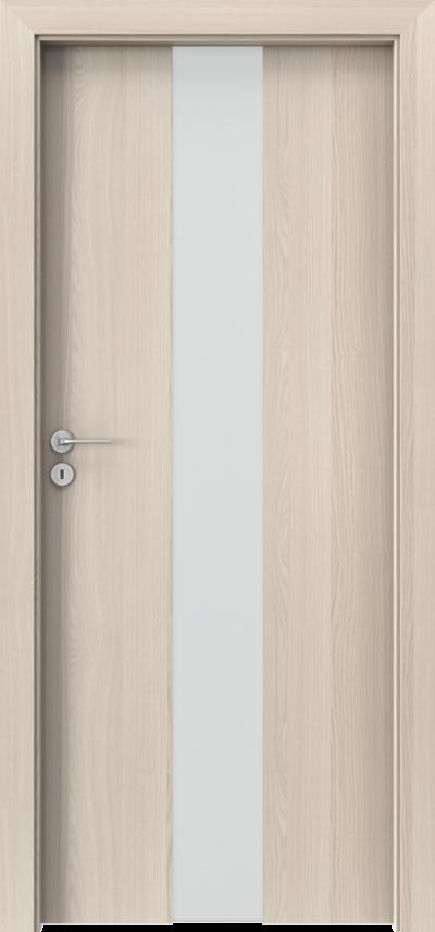 Drzwi wewnętrzne Porta FOCUS 2.0 szyba matowa Okleina CPL HQ 0,2 ***** Orzech Bielony
