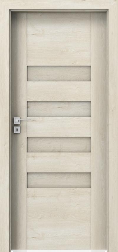 Drzwi wewnętrzne Porta KONCEPT H.0 Okleina Portaperfect 3D **** Dąb Skandynawski