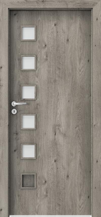 Interiérové dveře Porta FIT A.5 Fólie Portaperfect 3D **** Dub Sibiřský