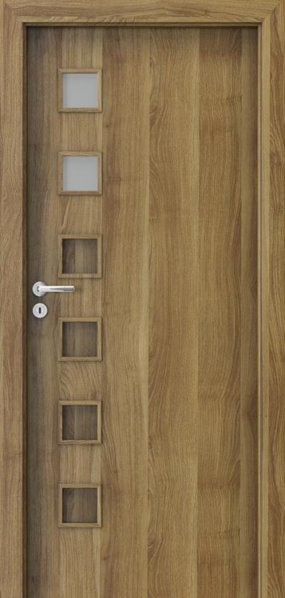 Interior doors Porta FIT A.2 Portasynchro 3D veneer *** Honey Acacia