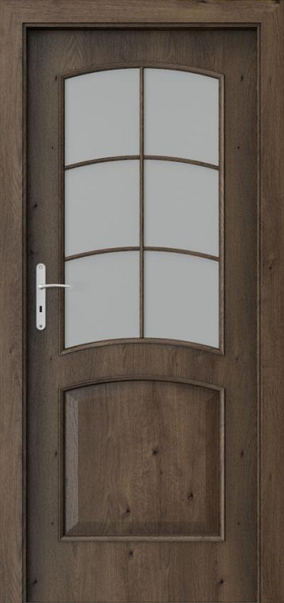 Interior doors Porta NOVA 6.2 Portaperfect 3D veneer **** South Oak