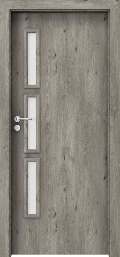 Drzwi wewnętrzne Porta GRANDDECO 6.2 Okleina Portaperfect 3D **** Dąb Syberyjski