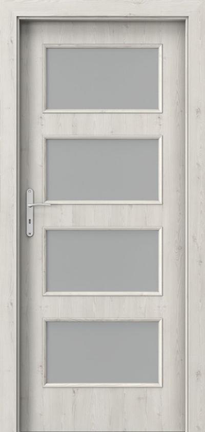 Drzwi wewnętrzne Porta NOVA 5.5 Okleina Portasynchro 3D *** Sosna Norweska