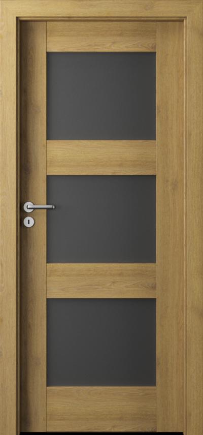 Drzwi wewnętrzne Porta VERTE PREMIUM, B B.3 Okleina Portaperfect 3D **** Dąb Naturalny