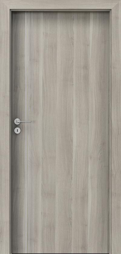 Drzwi wewnętrzne Porta LINE B.1 Okleina Portasynchro 3D *** Akacja Srebrna