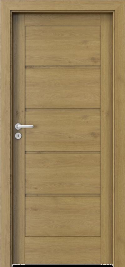 Drzwi wewnętrzne Porta VERTE HOME, G G.0 Okleina Portaperfect 3D **** Dąb Naturalny