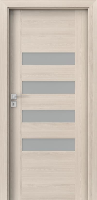 Interior doors Porta CONCEPT H.4 Portadecor veneer *** White Walnut