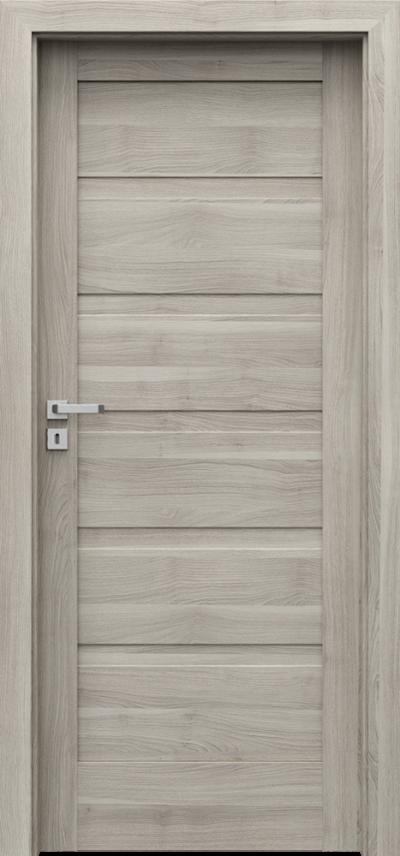 Drzwi wewnętrzne Porta VERTE HOME, H H.0 Okleina Portasynchro 3D *** Akacja Srebrna