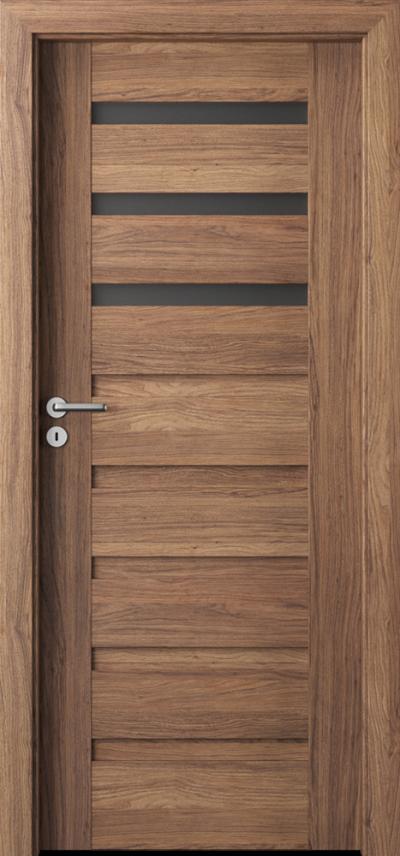 Drzwi wewnętrzne Porta VERTE PREMIUM, D D.3 Okleina Portaperfect 3D **** Dąb Kalifornia