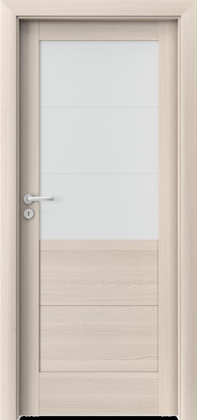 Drzwi wewnętrzne Porta VERTE HOME, B B.3 Okleina Portadecor *** Orzech Bielony