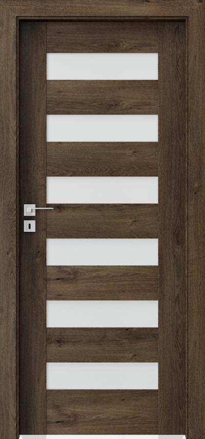 Innenraumtüren Porta CONCEPT C.6 Furnier Portaperfect 3D **** Süd-Eiche